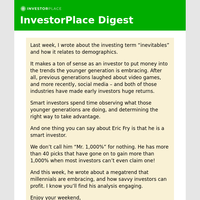 Another Investing Megatrend