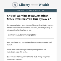 Critical Warning to ALL American Stock Investors \