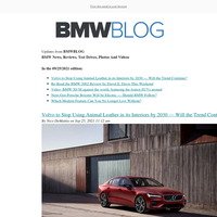 Posts from BMWBLOG for 09/25/2021