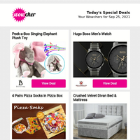 😍 Get a WOW a day - a chance to save with Wowcher ends soon