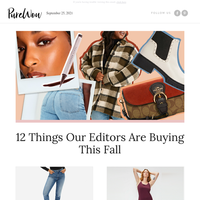 The only 12 things you need this fall