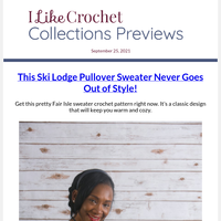 Classic! Fair Isle Crochet Sweater