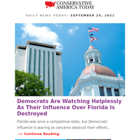 ALERT: Democrats Are Watching Helplessly As Their Influence Over Florida Is Destroyed