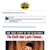 Blak Knife has people buzzing  (Comments Inside)