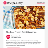 The Best French Toast Casserole