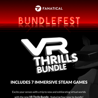 NEW 7-game VR collection! Includes 4 new-to-bundle