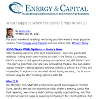 What Happens When the Dollar Drops in Value?