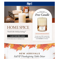 Free Candle ... Last Chance!