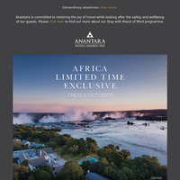 Save on authentic luxury with our Africa Limited Time Exclusive sale