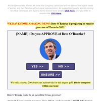Beto O'Rourke is preparing to run for GOVERNOR (we're SCREAMING!)