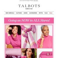 First-ever PINK OUT EVENT + 25% off