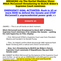 DEVELOPING: McConnell's BOMBSHELL threat