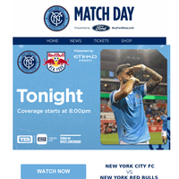 Matchday Derby Game 1 | NYCFC vs New York Red Bulls |Tune-In tonight