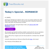 🏩(Instant Download) More Romance for {NAME}