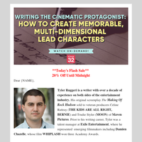 You HAVE to check out this character writing webinar, {NAME}