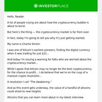 Bitcoin Pioneer Issues Bitcoin Warning