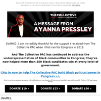 Join me in supporting The Collective PAC's work