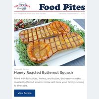 Simple Honey Roasted Butternut Squash