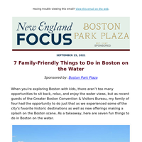 7 Family-Friendly Things to Do in Boston on the Water
