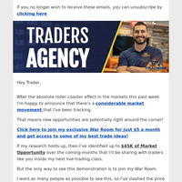 Get access to some of my best trade ideas