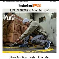 Maximum flex: The 8-Series Work Pant.