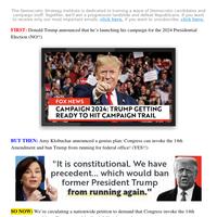 Donald Trump 𝗿𝗲-𝗲𝗹𝗲𝗰𝘁𝗲𝗱??