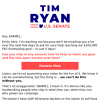 Not just another fundraising email