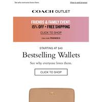 Bestselling Wallets