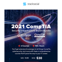 Launch Your IT Career & Learn Cybersecurity With This CompTIA Bundle