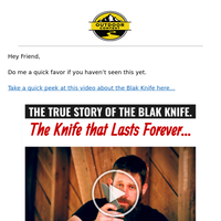 The Knife BIG companies told me NOT TO MAKE.