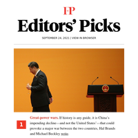 Editors' Picks: China is a declining power—and that's the problem