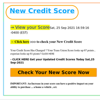 ATT ({EMAIL}) ,Your Credit Score Has changed ✔️