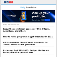 Know the recruitment process of TCS, Infosys, Accenture, and others   How to nail a programming job interview in 2021