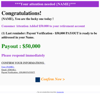 ️️Final Warning🔔🔔YOU HAVE BEEN PAID_50.000$▶️🎁▶️Check your account💸💰💲94559
