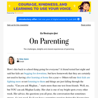 On Parenting: Parenting advice, and more