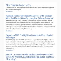 Top Stories from VosIzNeias.com