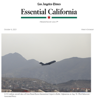 Essential California: Students are still in Afghanistan