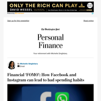 Personal Finance: Financial 'FOMO': How Facebook and Instagram can lead to bad spending habits