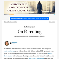 On Parenting: Breast cancer and parenting