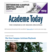 Academe Today: Student Activism on Sexual Assault -- What Colleges Need to Know About It