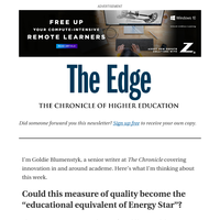 The Edge: 'The Educational Equivalent of Energy Star'