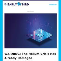 Helium Crisis Creates BOOM For Investors