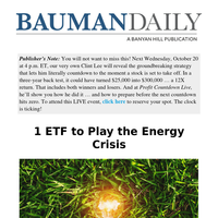 1 ETF to Play the Energy Crisis