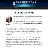 A China Warning