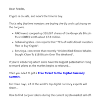 Finding bargain tokens during crypto crisis