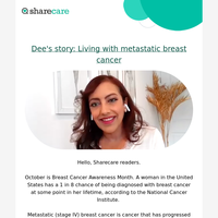 Learning from stage IV breast cancer