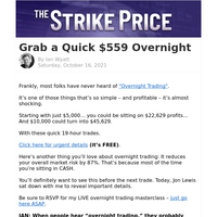 How to grab $559 in one day