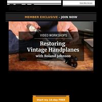 Watch: Restoring Vintage Handplanes