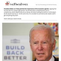 Biden: 'We're Not Going to Get $3.5 Trillion'