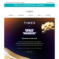 Timex Raids the Arcade
